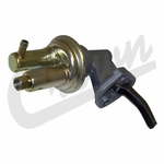 New fuel pump, fits 1977-86 Jeep CJ w/ 4.2L and 1983-86 w/ 2.5L AMC engine