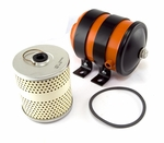 Oil filter canister, �includes filter (c-3 small civilian type filter)