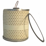 Oil filter element, drop in type (c-4 large military type filter)