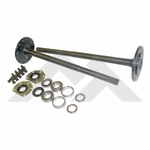 One piece axle shaft kit fits 1976-83 Jeep CJ-5 & 1976-81 CJ-7 with model 20 rear axle