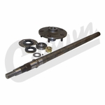 Passenger Side Axle Shaft Kit, fits 1976-83 Jeep CJ-5, 1976-81 CJ-7 with AMC 20 Rear Axle