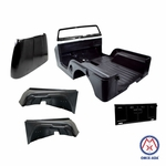 Replacement steel body kit, 1969-1971 Jeep CJ-6