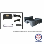 Replacement steel body kit, 1972-1975 Jeep CJ-5