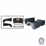 Replacement steel body kit, 1976-1983 Jeep CJ-5