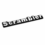 Scrambler Emblem for 1981-1985 Jeep CJ8, MOPAR Officially Licensed Product