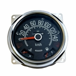 Speedometer Assembly, 0-140 kph, fits 1980-86 Jeep CJ-5, CJ-7, CJ-8 Models