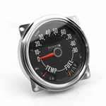 Speedometer Assembly, 0-90 mph, fits 1955-79 Jeep CJ-5, CJ-6, CJ-7 Models