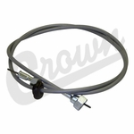 "Speedometer Cable, 60"" fits 1972-75 Jeep CJ-5, CJ-6, 3 Speed Transmission"