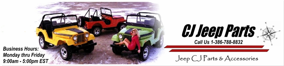 Jeep CJ Parts, Jeep Parts & Accessories, CJ-7 Parts, CJ-5 Parts, CJ-3A, CJ-2A, CJ-3B