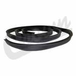 Crown Inner to Outer Windshield Weatherstrip for 1941-1949 Willys MB, CJ-2A