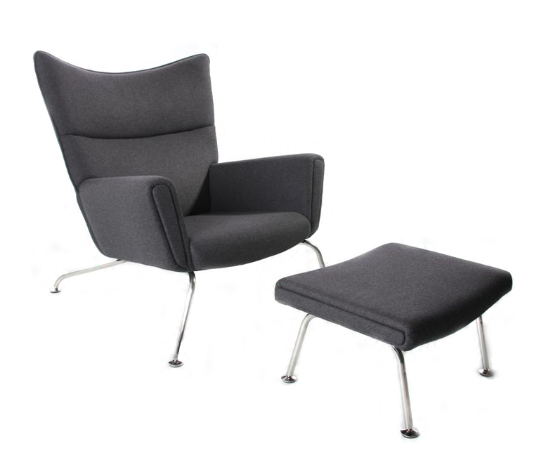 Hans Wegner CH445 Wing Chair - Wool or Leather