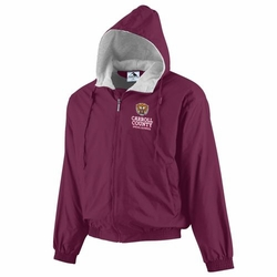CCSO Maroon Hooded Jacket