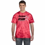 Maryland Stars Red Tie-Dye T-Shirt