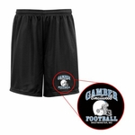 Mustangs Black Mesh Shorts