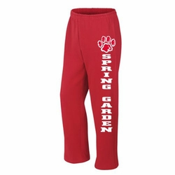 Spring Garden Elementary Red Sweatpants