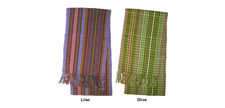 Guatemalan Cotton Scarves