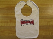 Everyone Loves A Norwegian Girl Bib