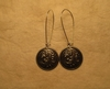 Kirstin  Button Earring, Kidney Loop Large