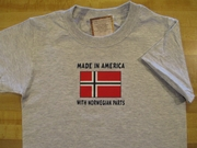 Made In America With Norwegian Parts Children's Shirts