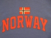 Norway Athletic with Norwegian Flag Long Sleeved T-Shirts