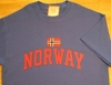 Norway Athletic with Norwegian Flag Shirts