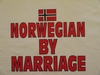 Norwegian By Marriage Hooded Fleece