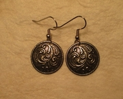 Norwegian Pewter Button Jewelry