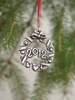 Norwegian Pewter Ornament - 2012 Annual Ornament