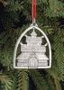 Norwegian Pewter Ornament- Stave Church