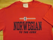 Norwegian To The Core Shirts