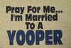 Pray For Me....I'm Married To A Yooper Hooded Fleece