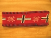 Red Norway Flag Knit Headband