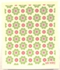 Swedish Dishcloth - Malin Westberg Green Flowers