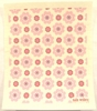 Swedish Dishcloth - Malin Westberg Pink Flowers