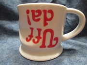 Uff Da Crushed, Dented and Upside down Mug