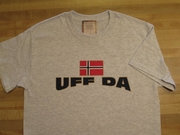 Uff Da with Norwegian Flag Shirts
