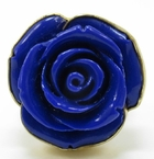 Charles Albert Alchemia Rose Resin Lapis Ring