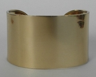 Charles Albert West End Gold Cuff Bracelet