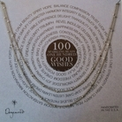 Dogeared 100 Good Wishes Necklace Silver