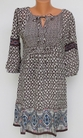 Tolani Collection  Ahley Tunic Ikat Multi