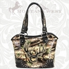 Montana West Deer Antlers Camo Handbags DR-8005