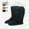 Montana West Fringe Winter Boots FGW-BTS005