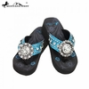Flower Concho Flip Flops (BY THE CASE) SAD-S001A