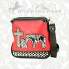 Montana West Praying Cowboy Messenger Bag HCS-8295