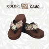 Montana West Diamond Camo Flip Flops HF-S002 NOT IN STOCK