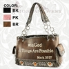 Montana West Bible Verse Handbag VS-8085 Various Colors