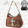 Montana West Concealed Weapon Camo Cross Handbag CFMG-8291