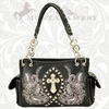 Montana West Fish Symbol Handbag FIS-8085