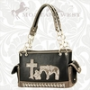 Montana West Praying Cowboy Handbag HCS-8085