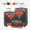 Montana West Texas Longhorn Travel Luggage TXLH-L001